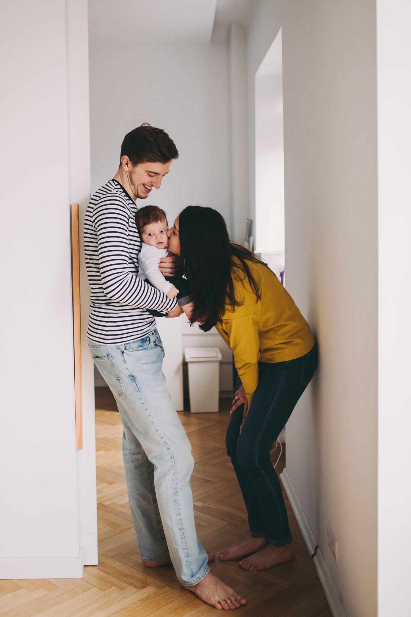 zdjęcia rodzinne w domu warszawa
